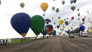 Record du monde de montgolfières