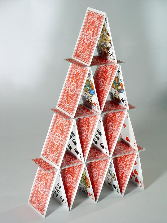 Le plus grand château de cartes