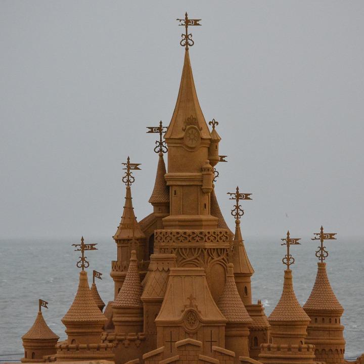 Le plus grand château de sable du monde